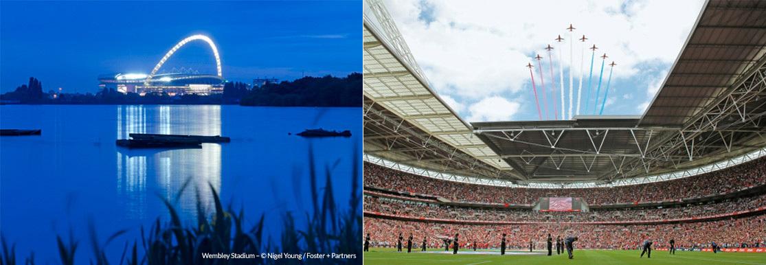 Wembley Stadium, London © Nigel Young/Foster + Partners