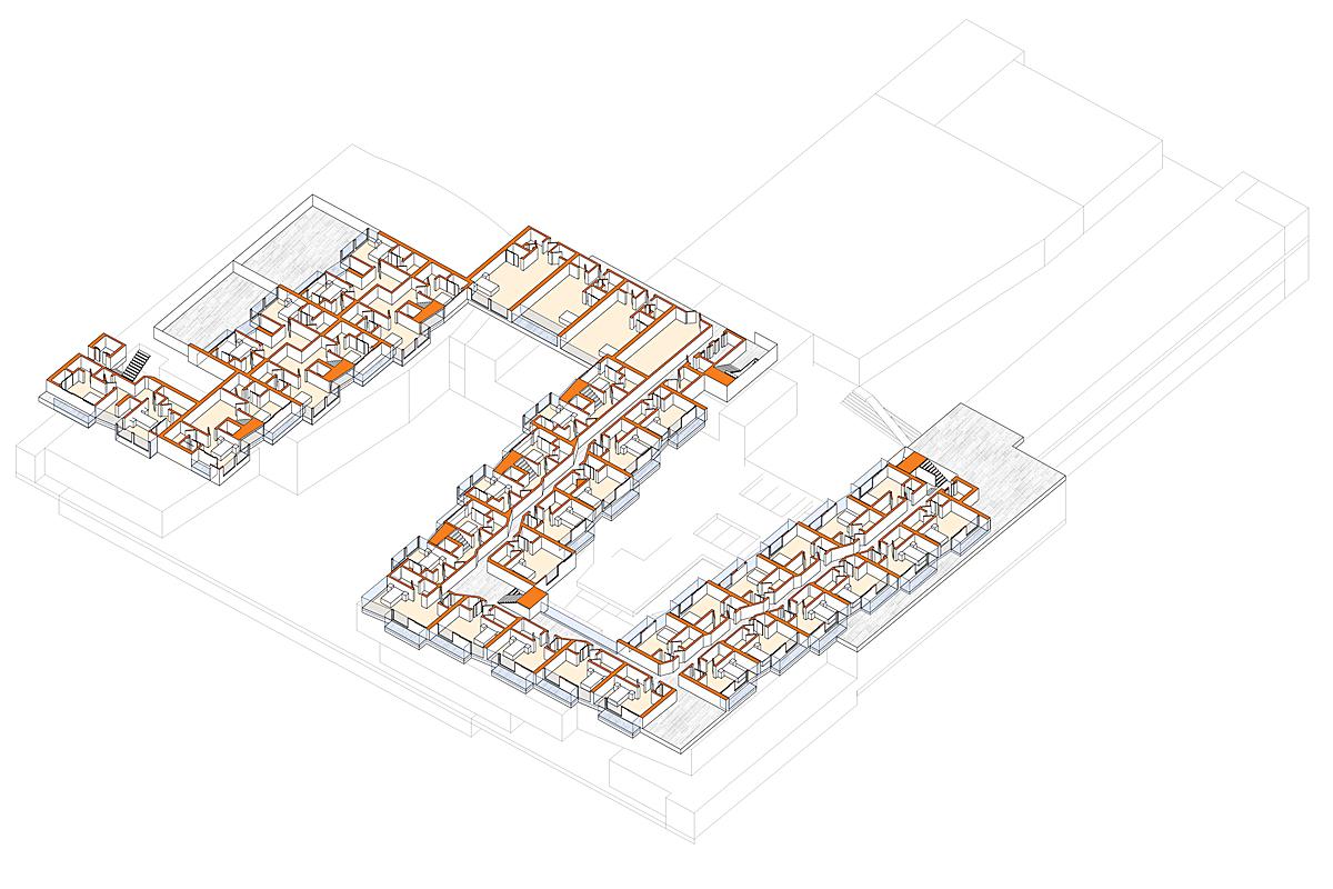 Housing Plan Axon