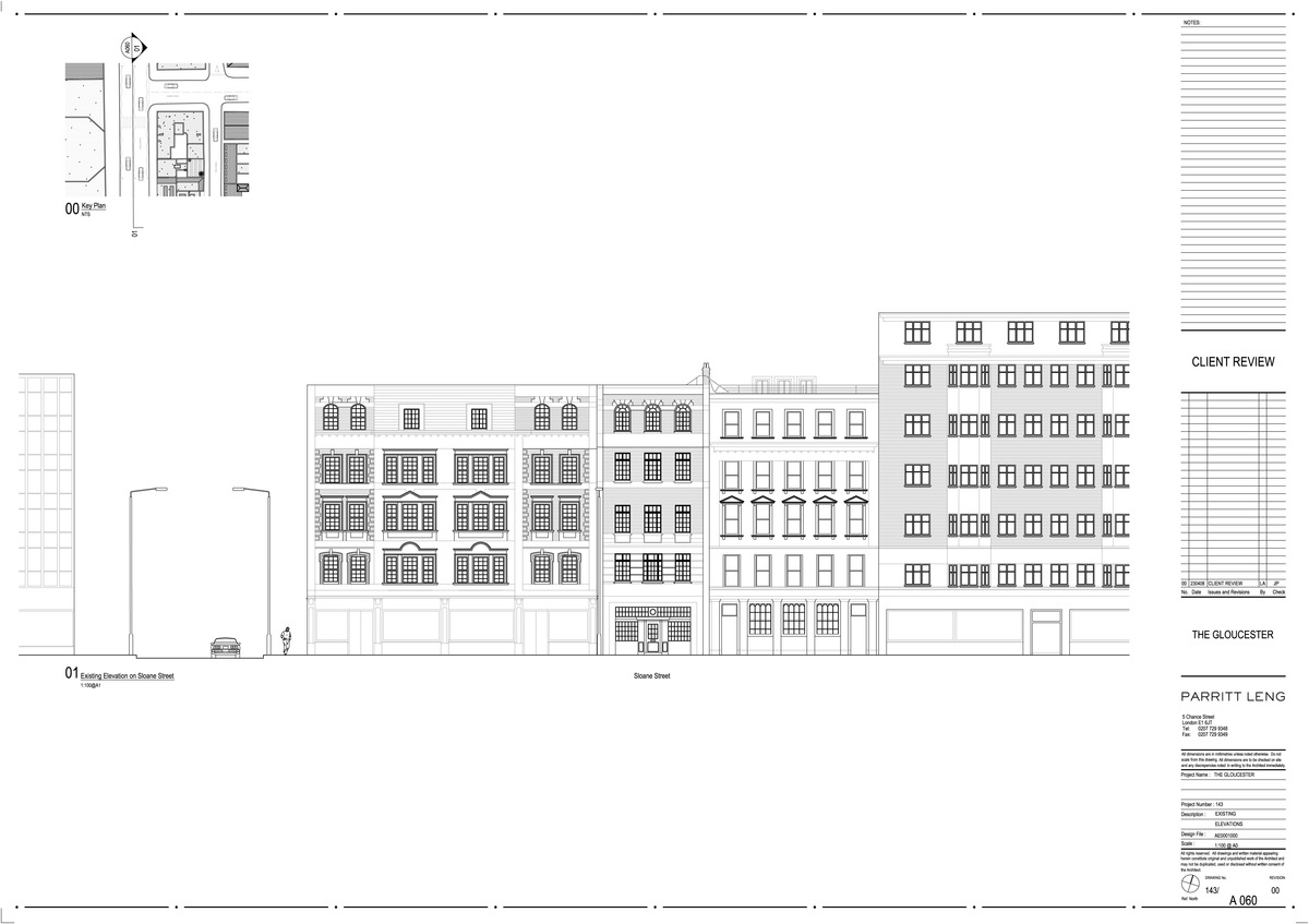 Sloane Street Elevation