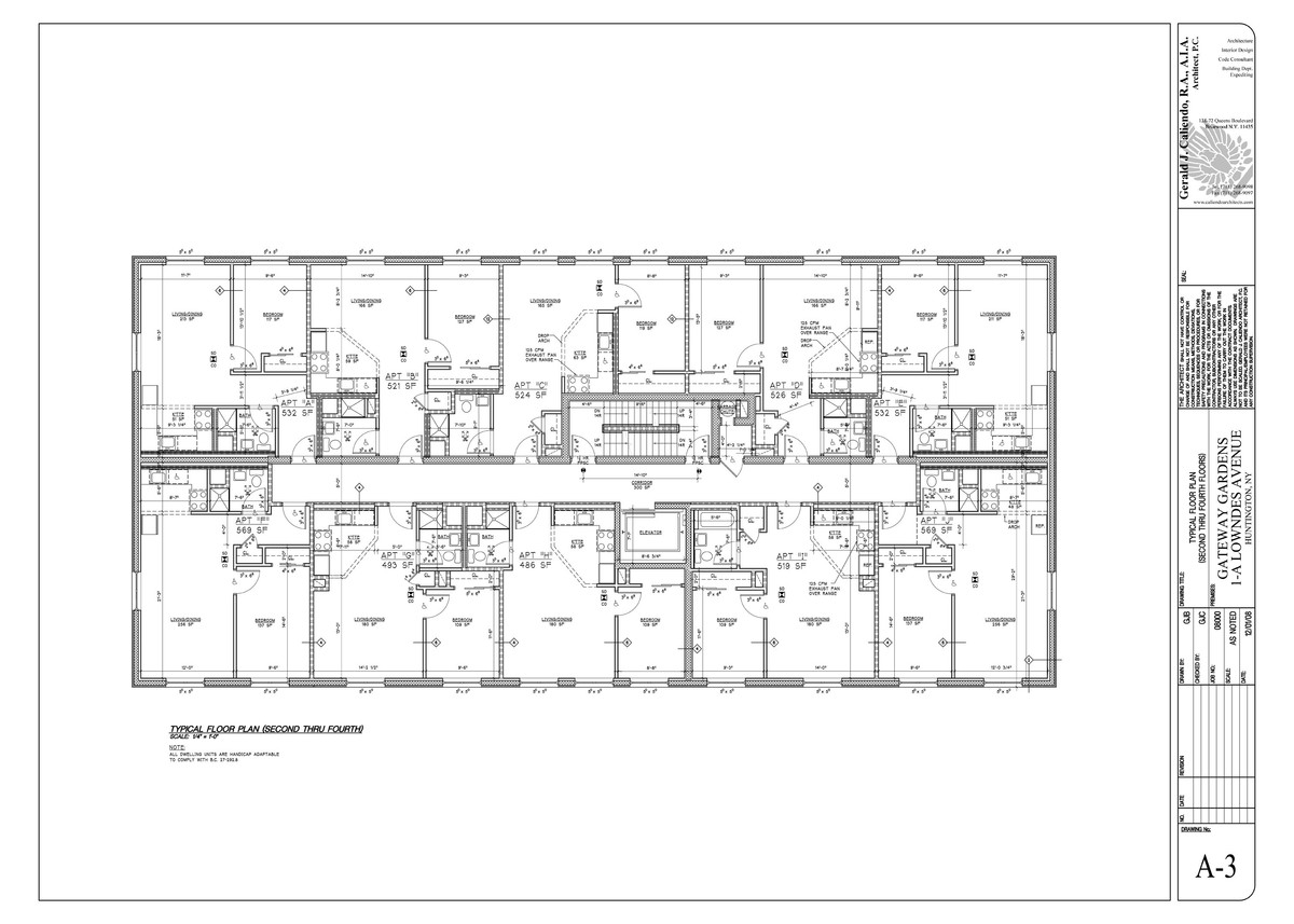 Typical Floorplans
