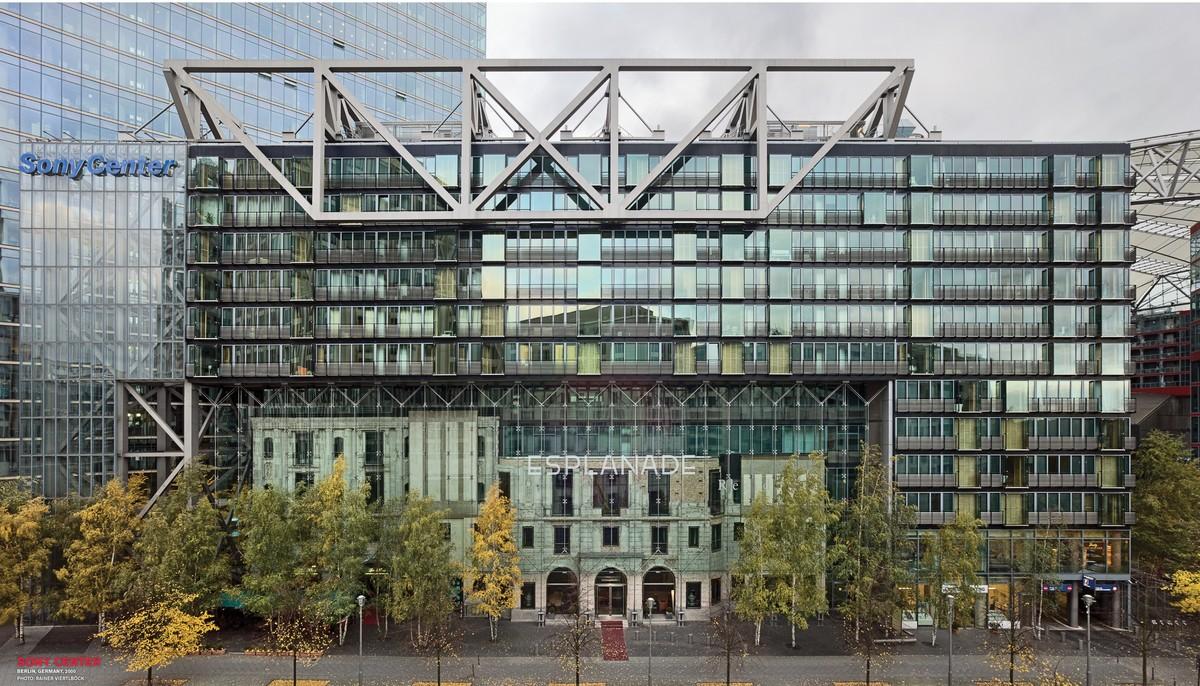The Sony Center in Berlin. Credit: Rainer Viertlböck