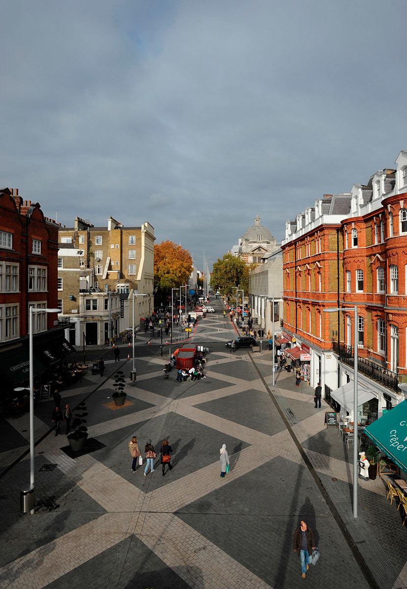 SPECIAL MENTION: EXHIBITION ROAD, London (United Kingdom), 2011 (Photo: Royal Borough of Kensington and Chelsea)