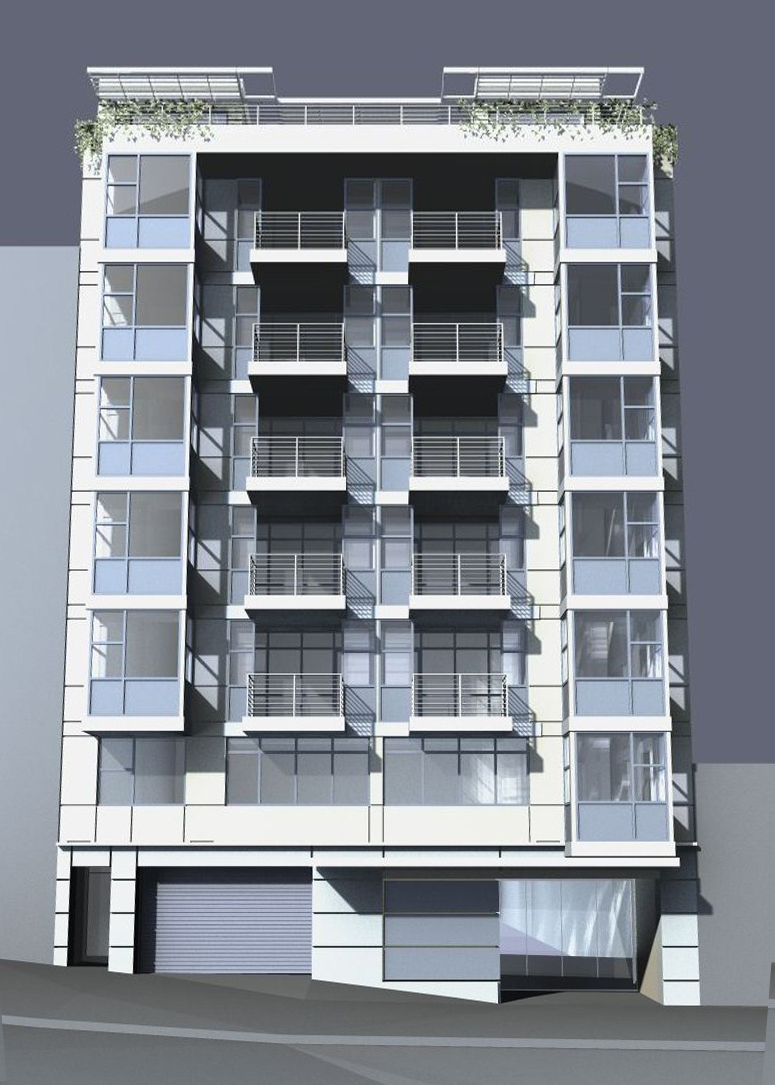 New apartment building in San Francisco | Mariusz ...