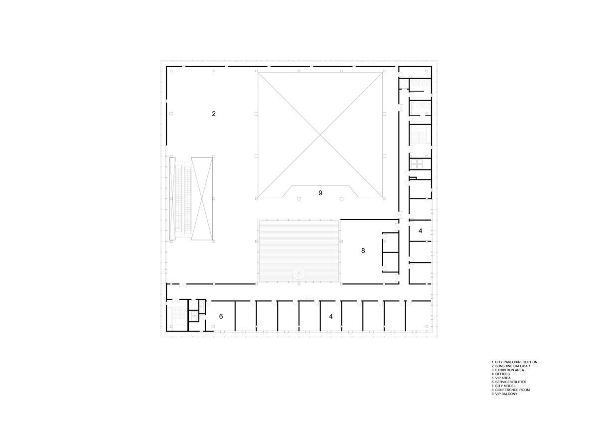 Floor plan, F03 (Image: HENN)