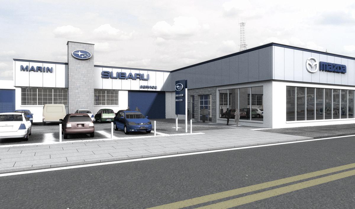 Mercedes Dealers In Ct >> Subaru dealership facility | Mariusz Piotrowski | Archinect