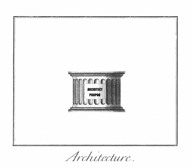 architects poopoo