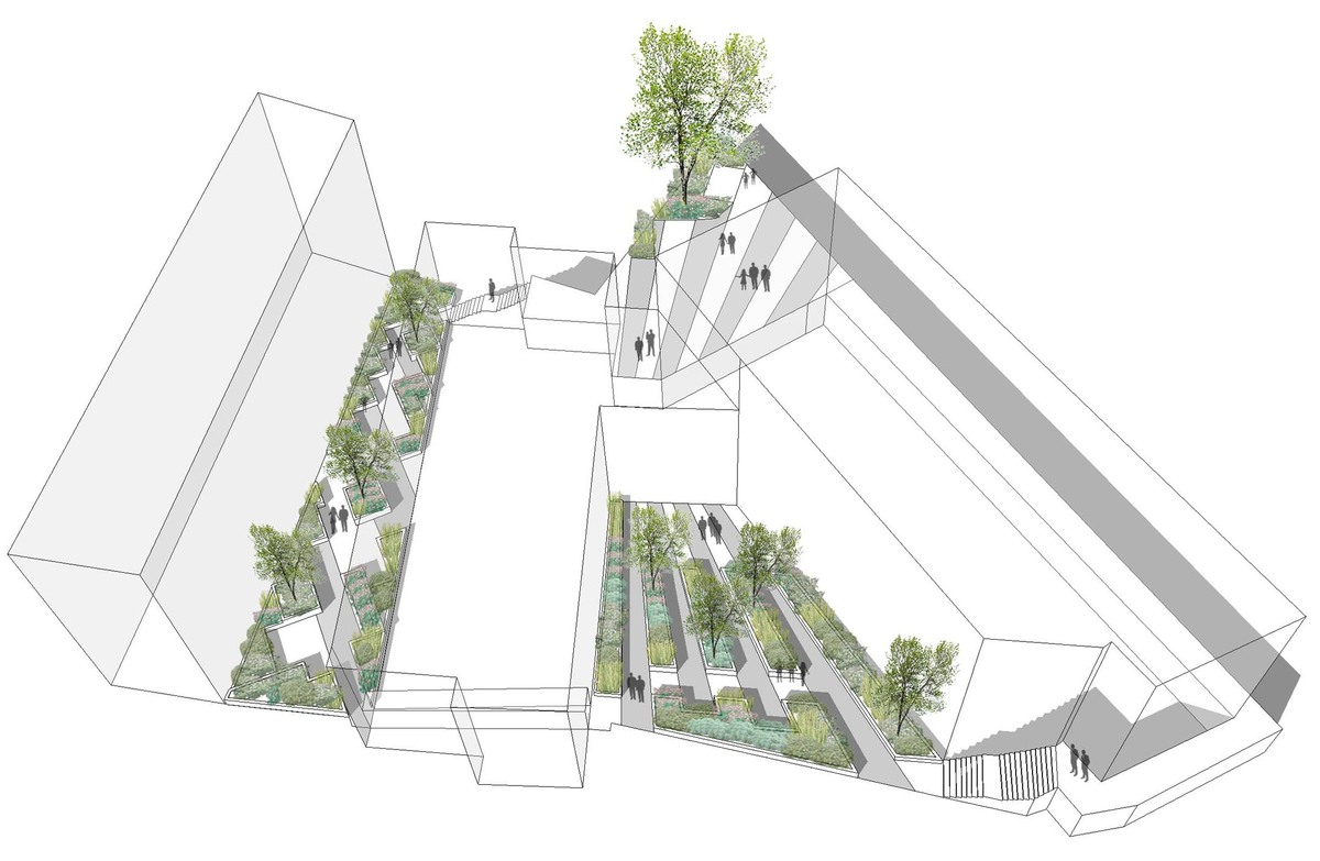 Ravenscourt house hammersmith london justin davis for Architecture student