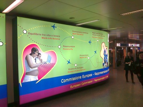 Fiumicino Airport, Roma, IT