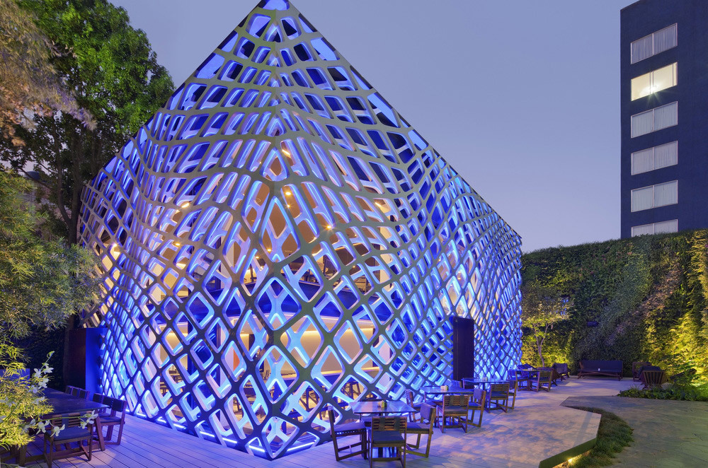 Peoples Choice - Architecture - Commercial under 1,000 sq m: Tori Tori Restaurant by Rojkind Arquitectos