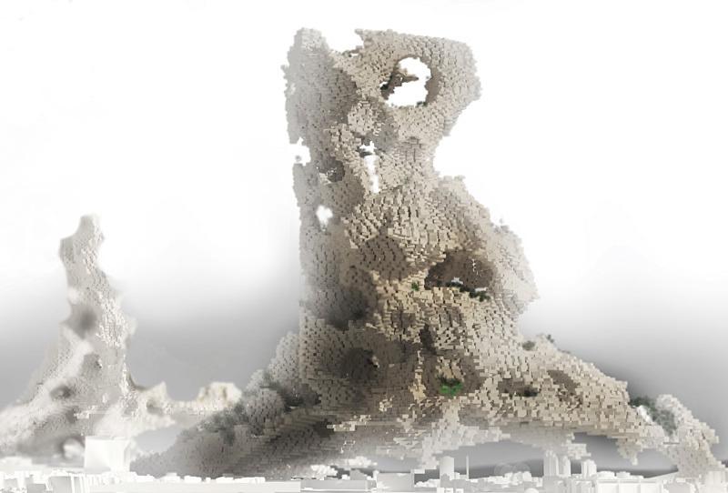 Second Place: Phobia Skyscraper, Darius Maïkoff and Elodie Godo (France)