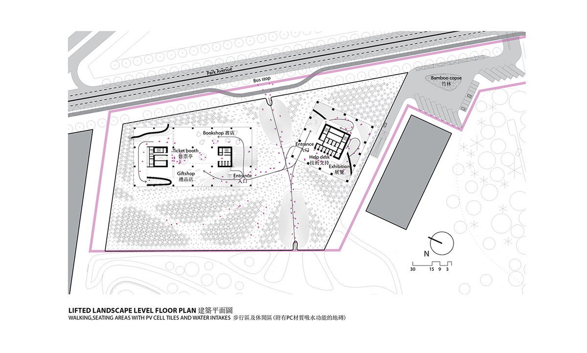 Plaza plan (Image: KAMJZ)