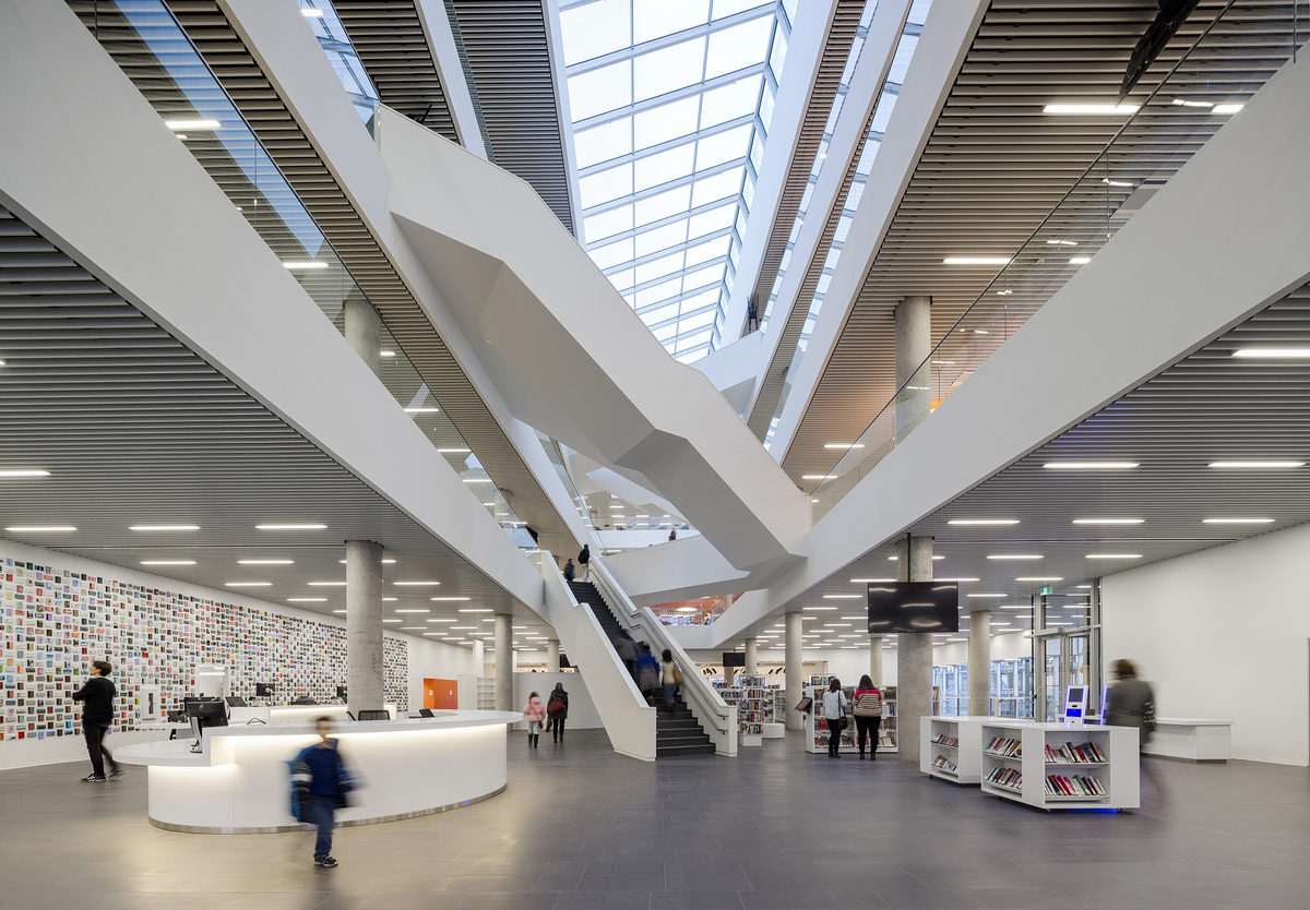 Halifax central library schmidt hammer lassen architects for New space architects