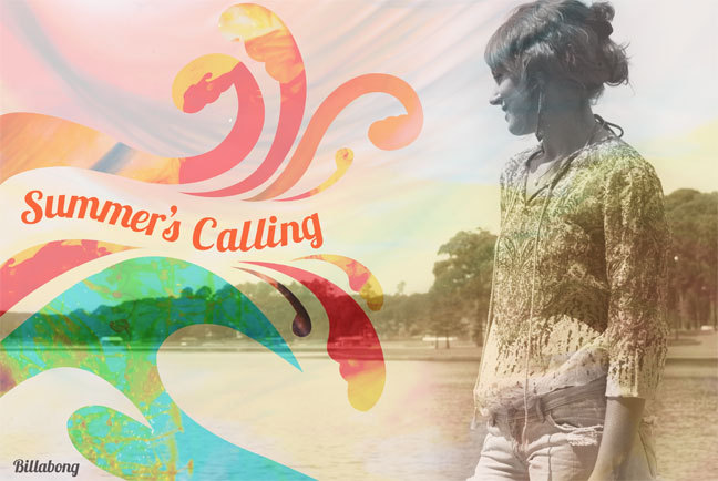 Summers Calling Print Ad