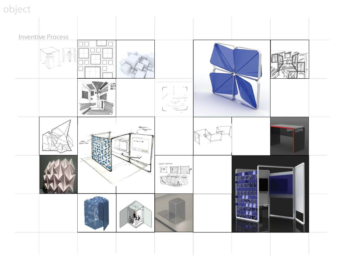 Hp mimic smart office design competition winners howard mack archinect - Designing and decorating home office in smart way ...