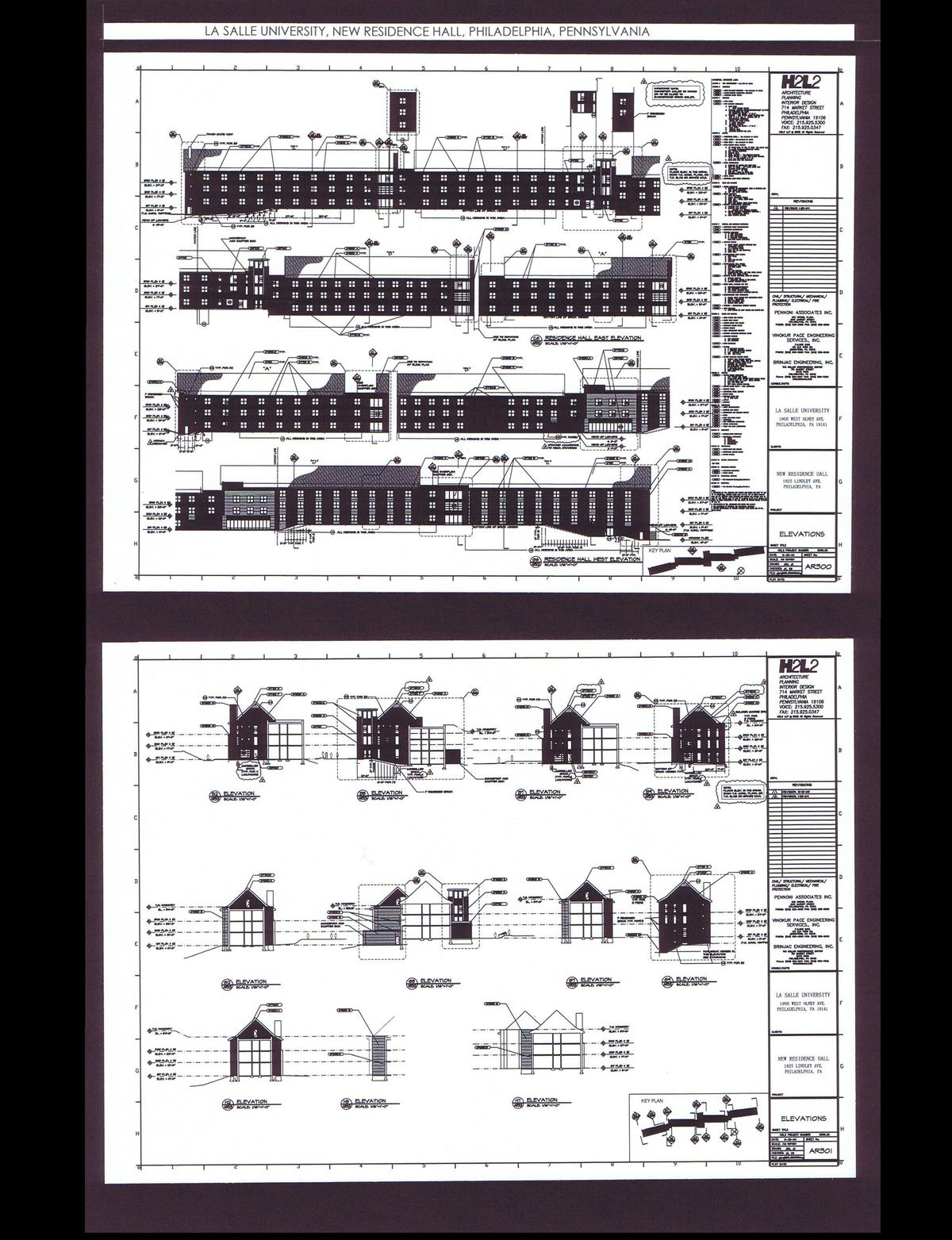 Elevations and Details