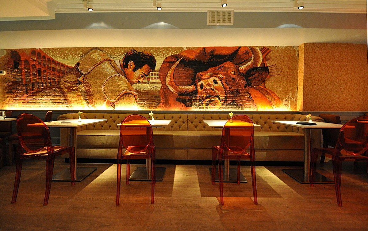 Graffit garrett singer architecture design archinect for Mural restaurant