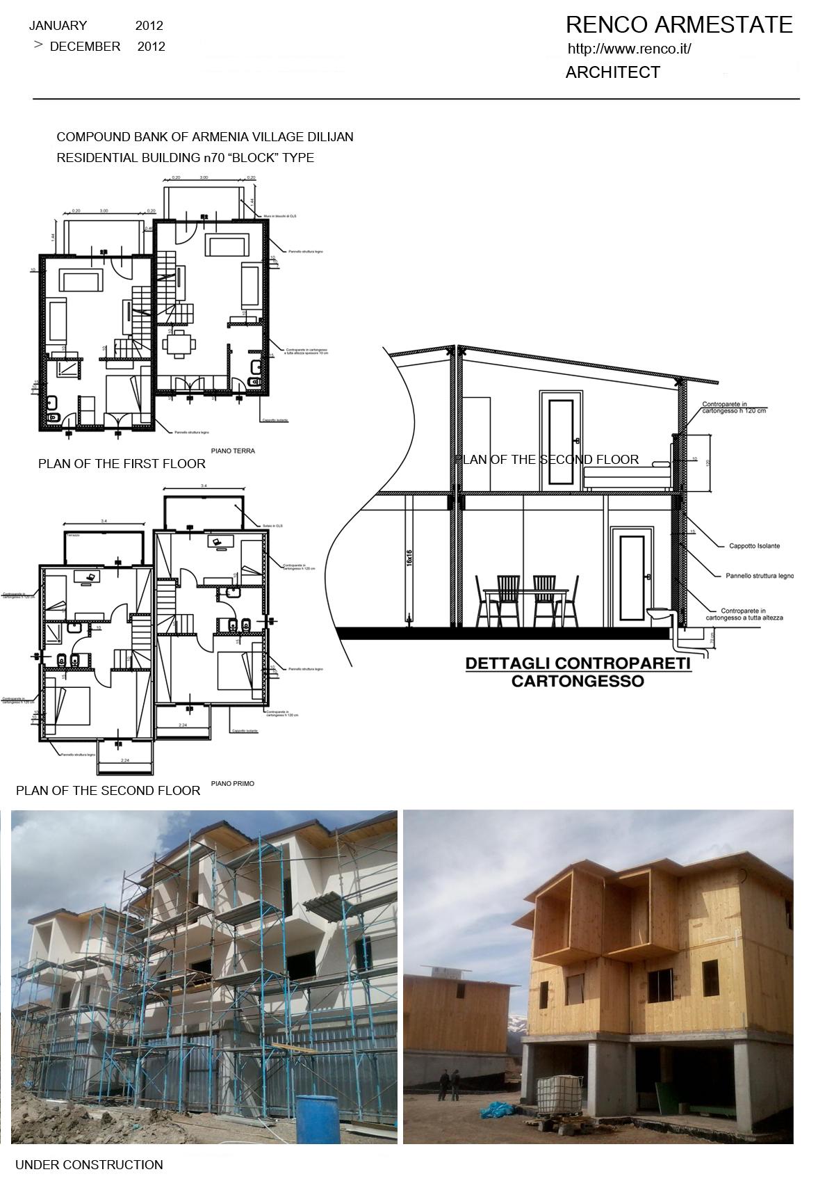 """RESIDENTIAL BUILDING n70 """"BLOCK"""" TYPE"""