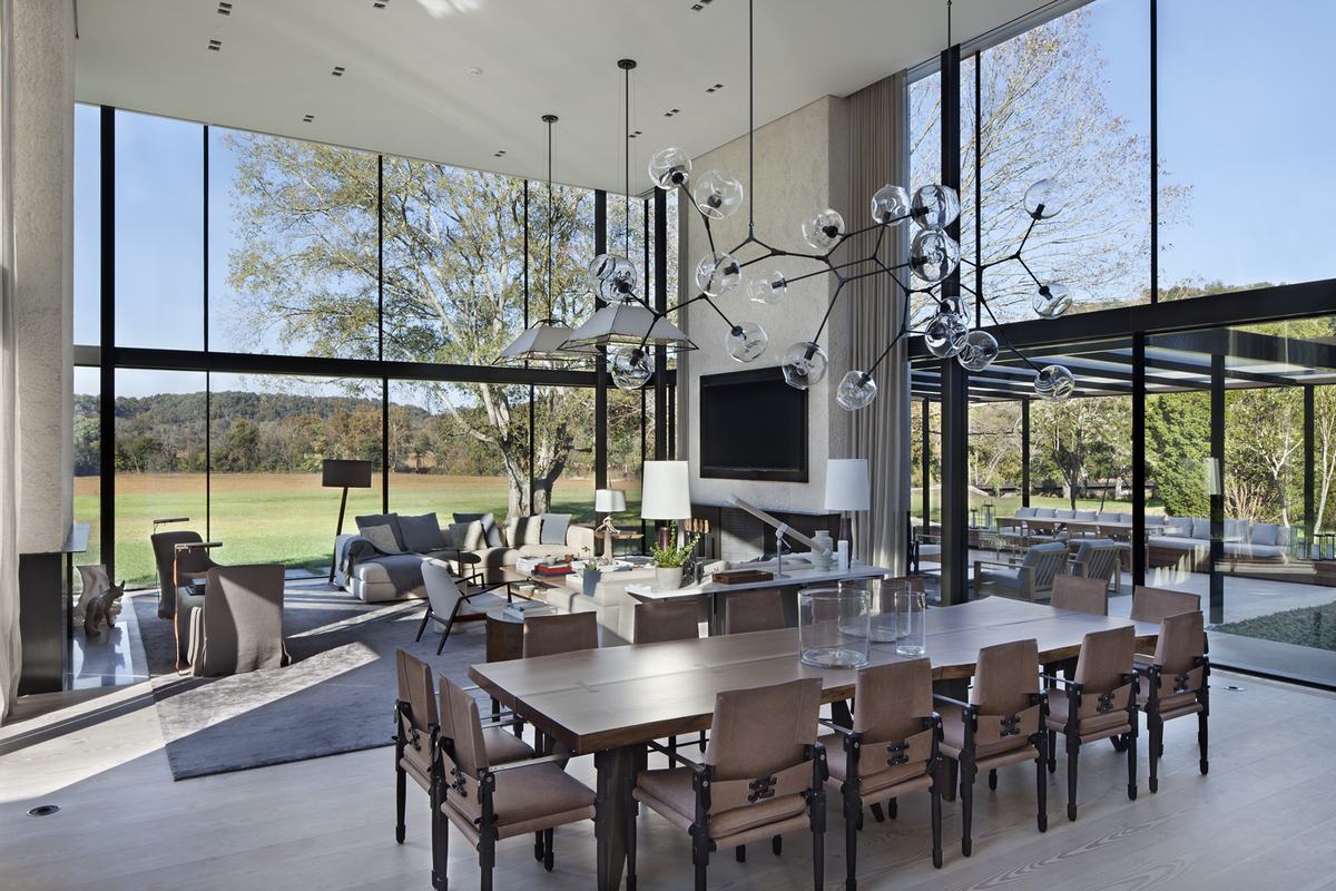 Tennessee Farmhouse Meyer Davis Studio Archinect
