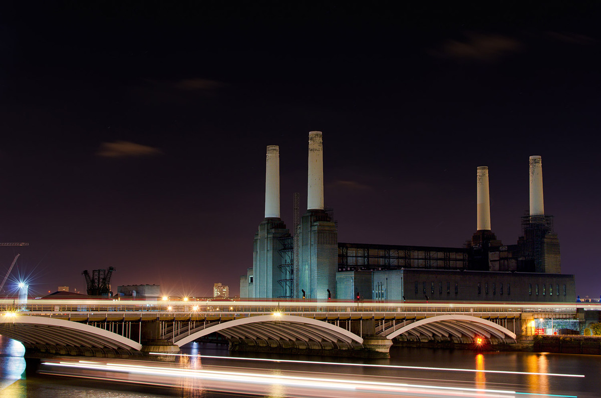 Battersea Power Station, London. Architect: Theo J. Halliday, Halliday & Agate Co. © Edward Neumann / EMCN