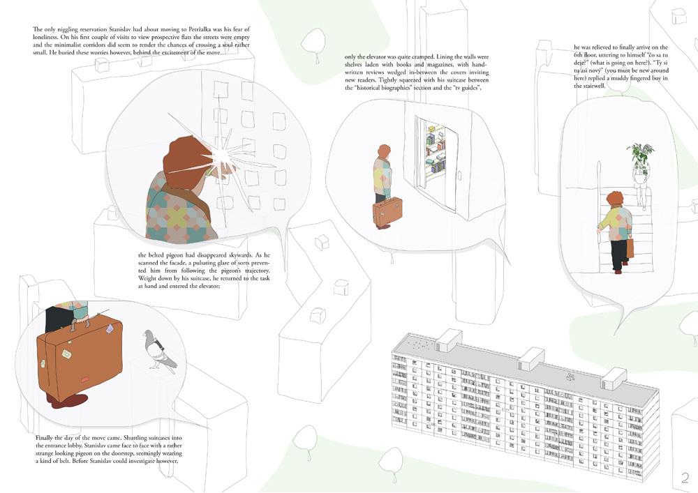 A Storeys' Tale by Natalia Petkova, Paula Petkova, Bernardo Robles Hidalgo (Slovakia / Spain)