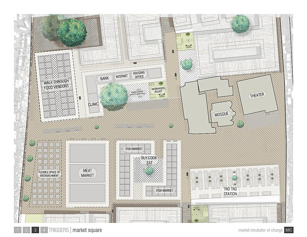 Marquet Square Plan