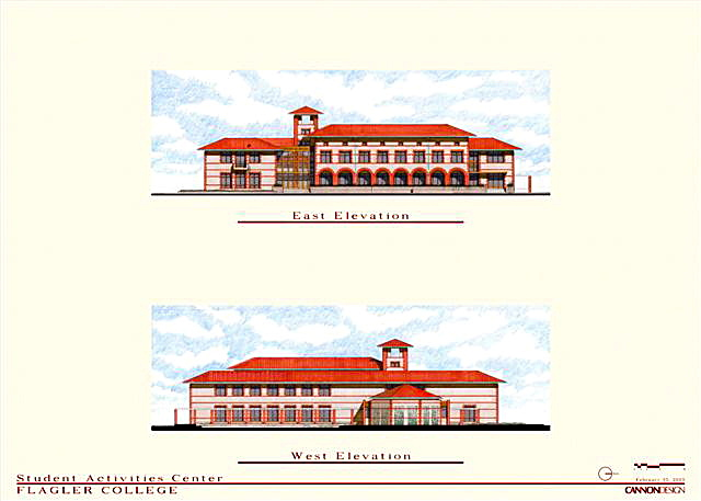 East and West Building Elevations