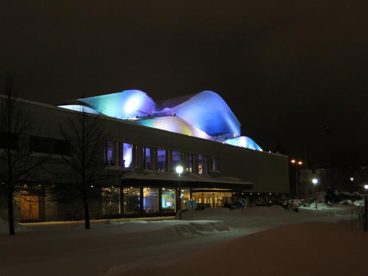 Alvar Aaltos Lappia Hall, Rovaniemi.