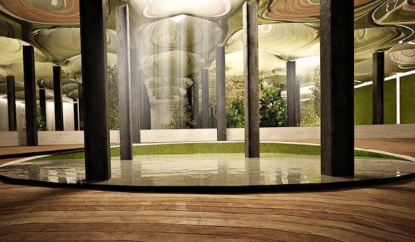 render of proposed Delancey Underground