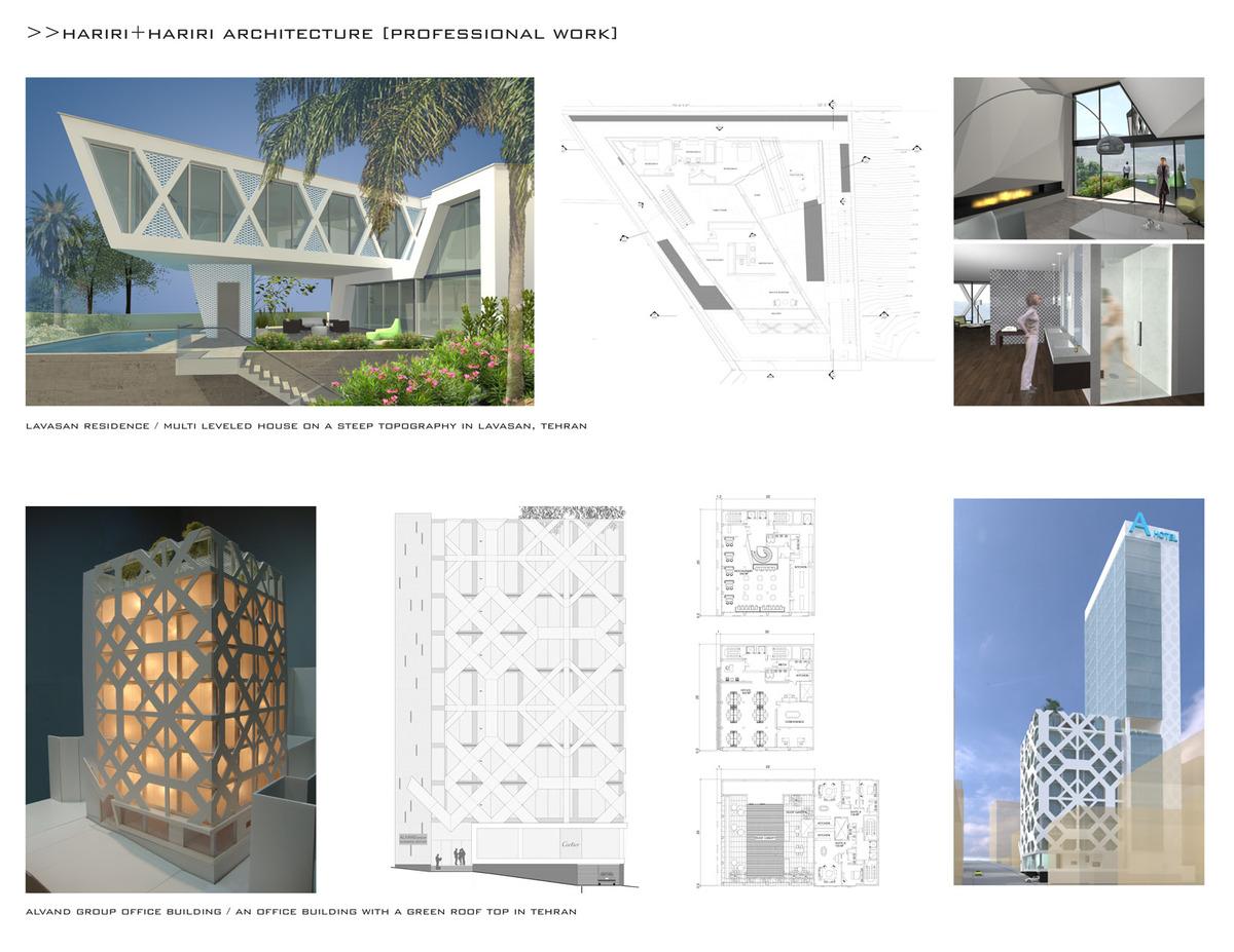 Professional Work At Hariri Hariri Architects