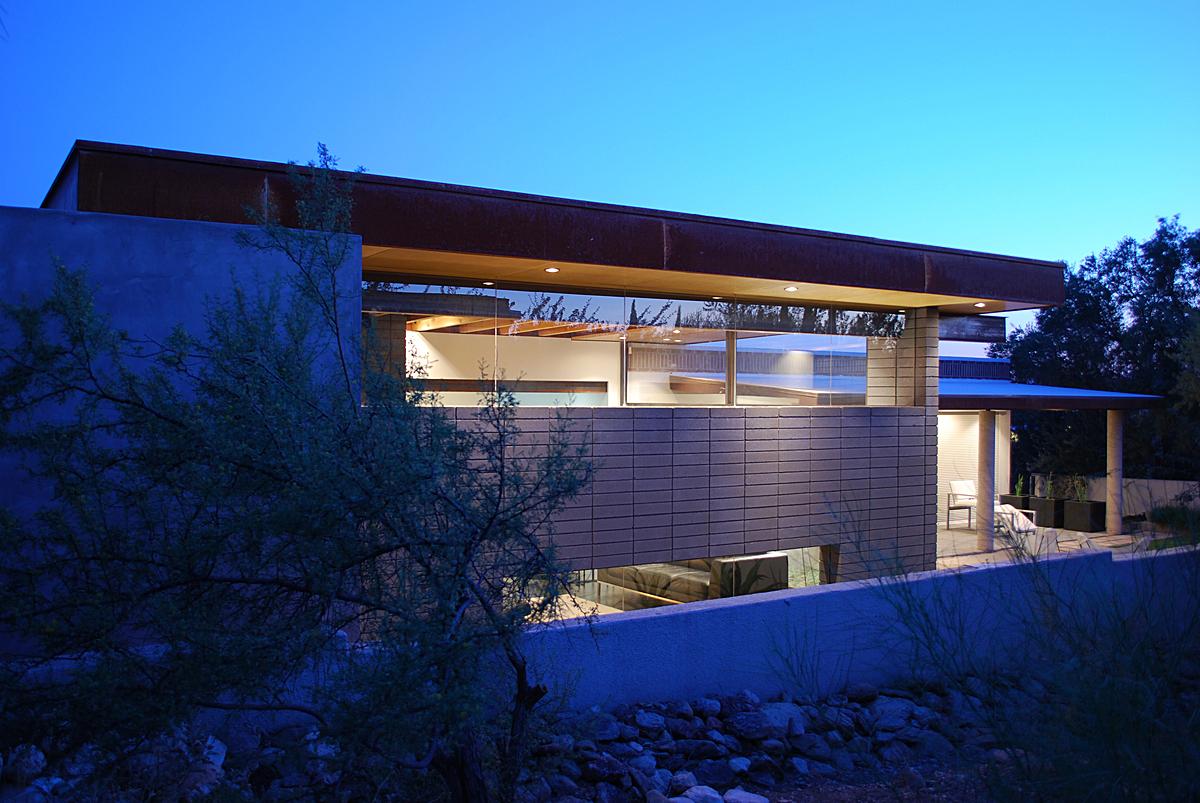 Silvertree Residence, Tucson Arizona, Secrest Architecture