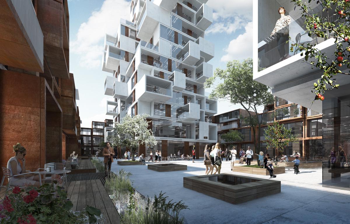 Hasle Linje Housing Complex