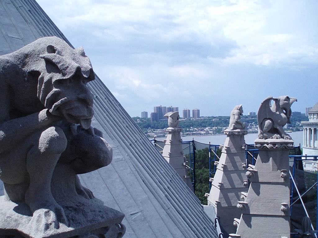 Riverside Church gargoyles