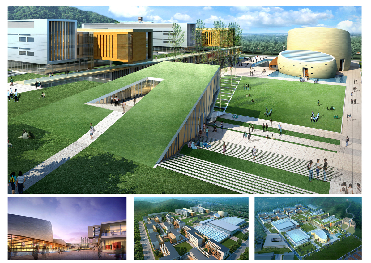 Huijia International School Campus Planning Yaying Weng
