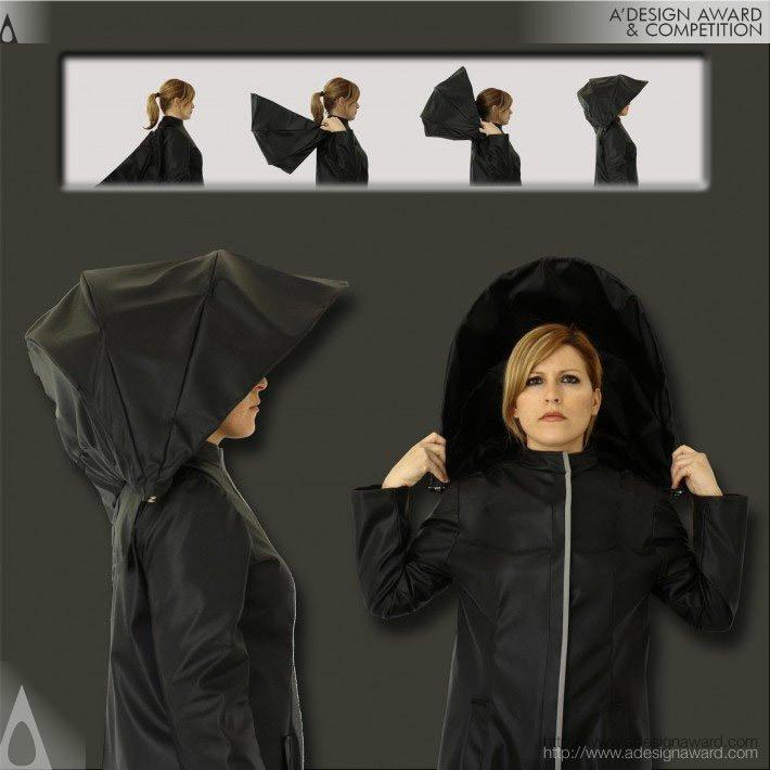 Umbrella Coat Raincoat by Athanasia Leivaditou