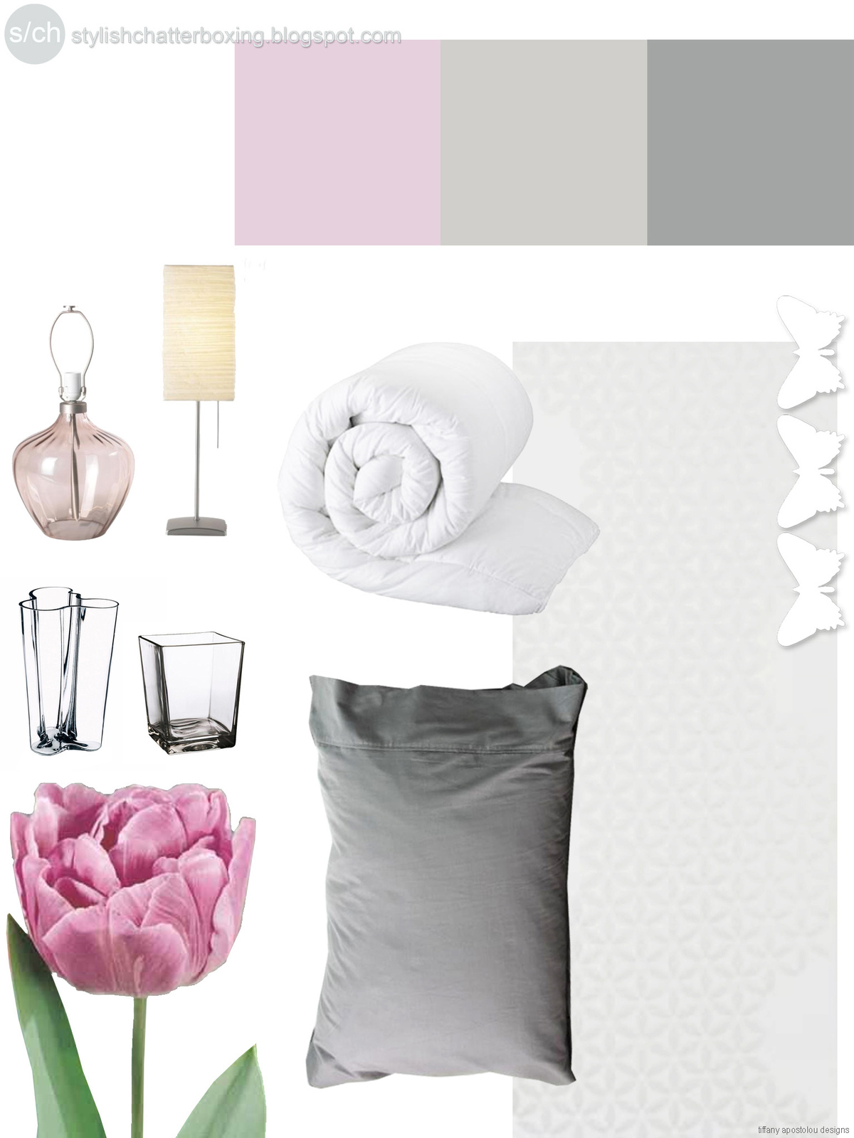 Color Palette - Bedrooms