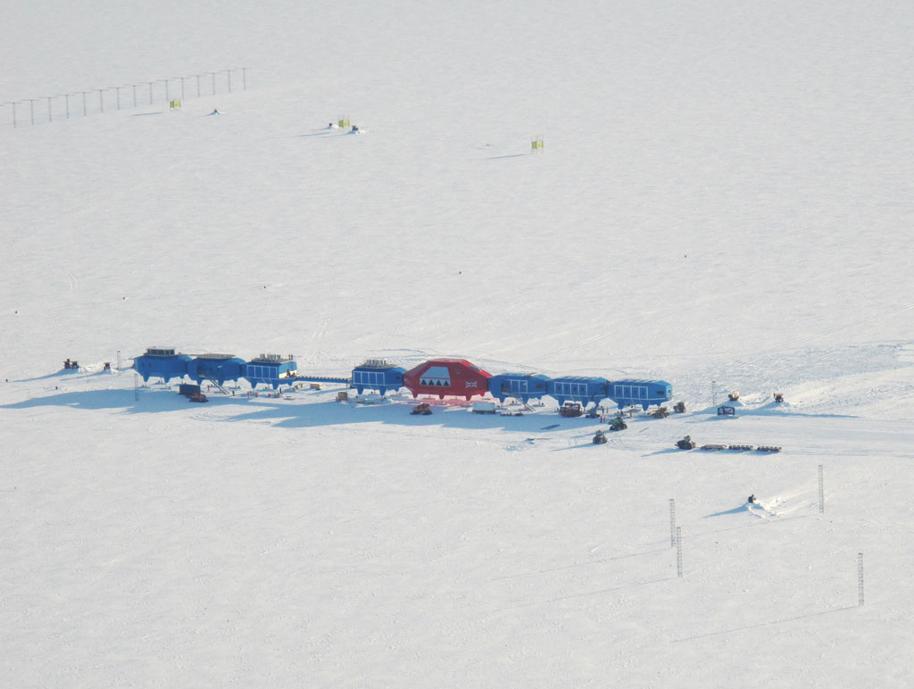 Halley VI Research Station via British Antarctic Survey