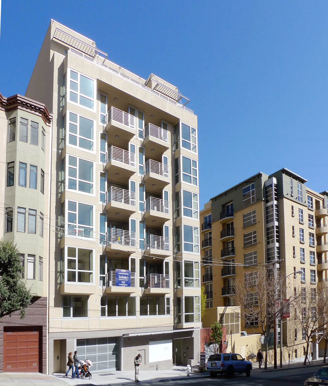 New Apartment Building In San Francisco