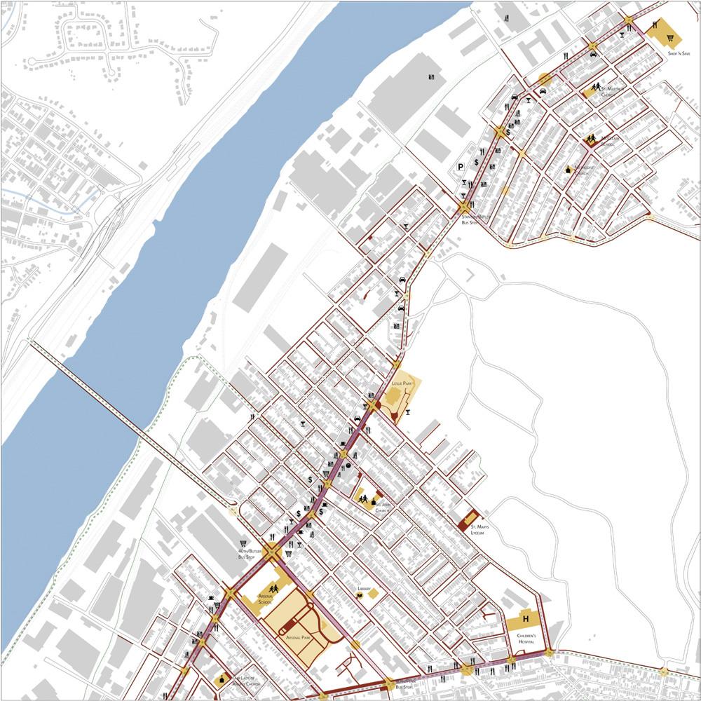 Neighborhood analysis: activity and movement