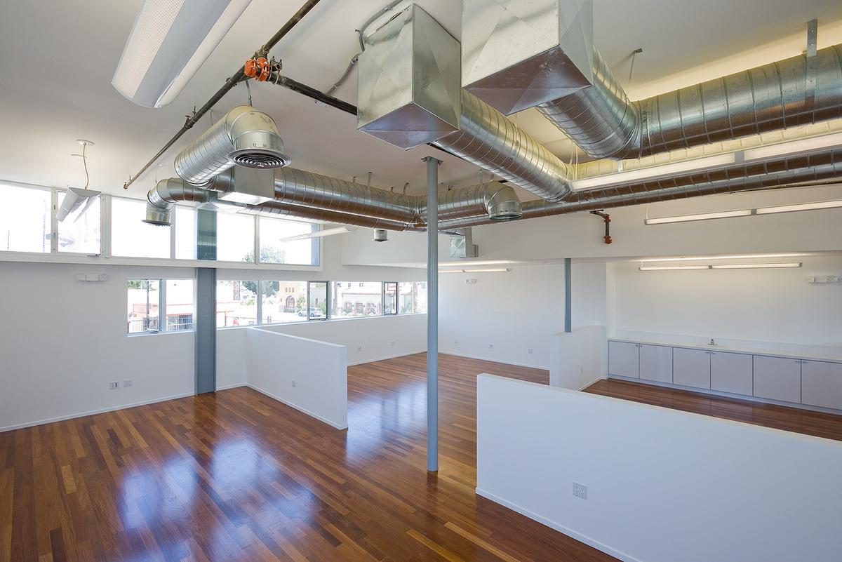 open plan studio