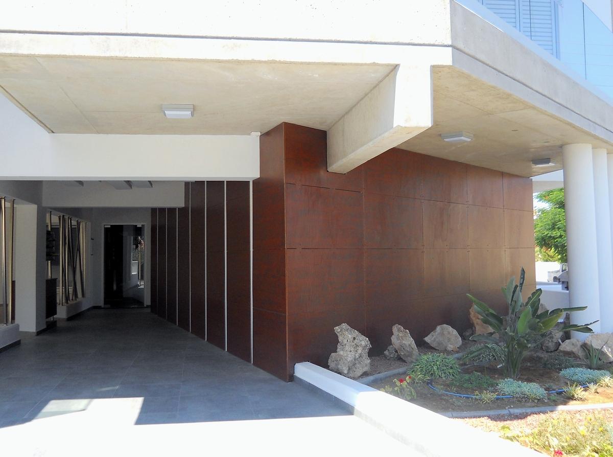 Apartment Building Entrance