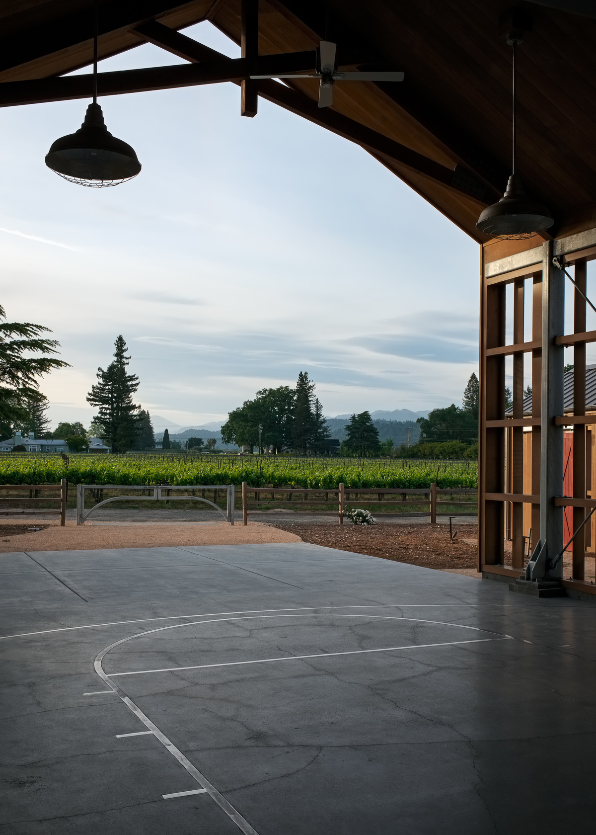 Napa barn anderson architects archinect for Anderson architects
