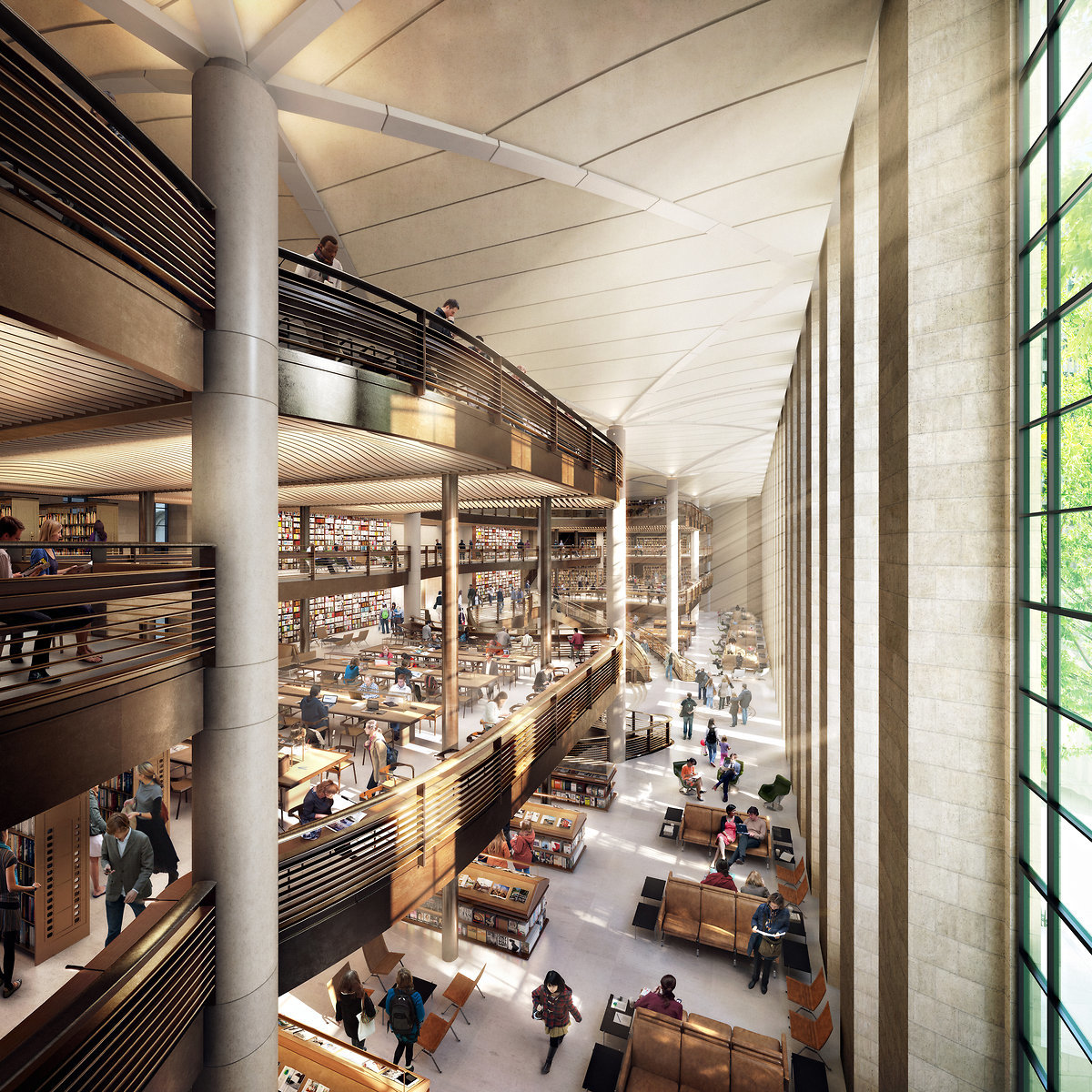 Source: New York Public Library/dbox/Foster + Partners