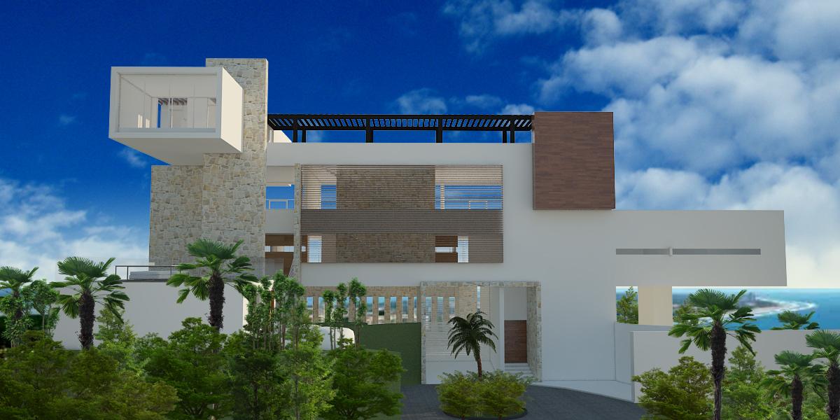Casa cima real arco arquitectura contempor nea archinect for Arquitectura contemporanea casas