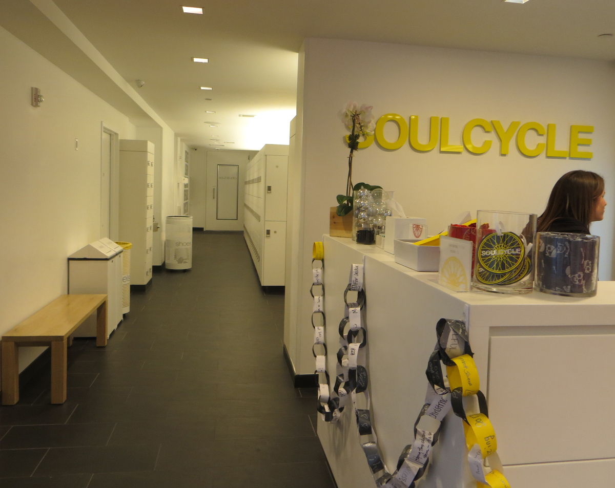 Soulcycle east 63rd street olivia lau archinect for Junior interior designer jobs nyc