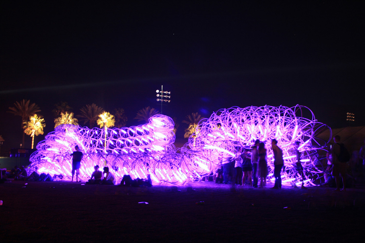 SCI-Arc at Coachella: Elastic Plastic Sponge