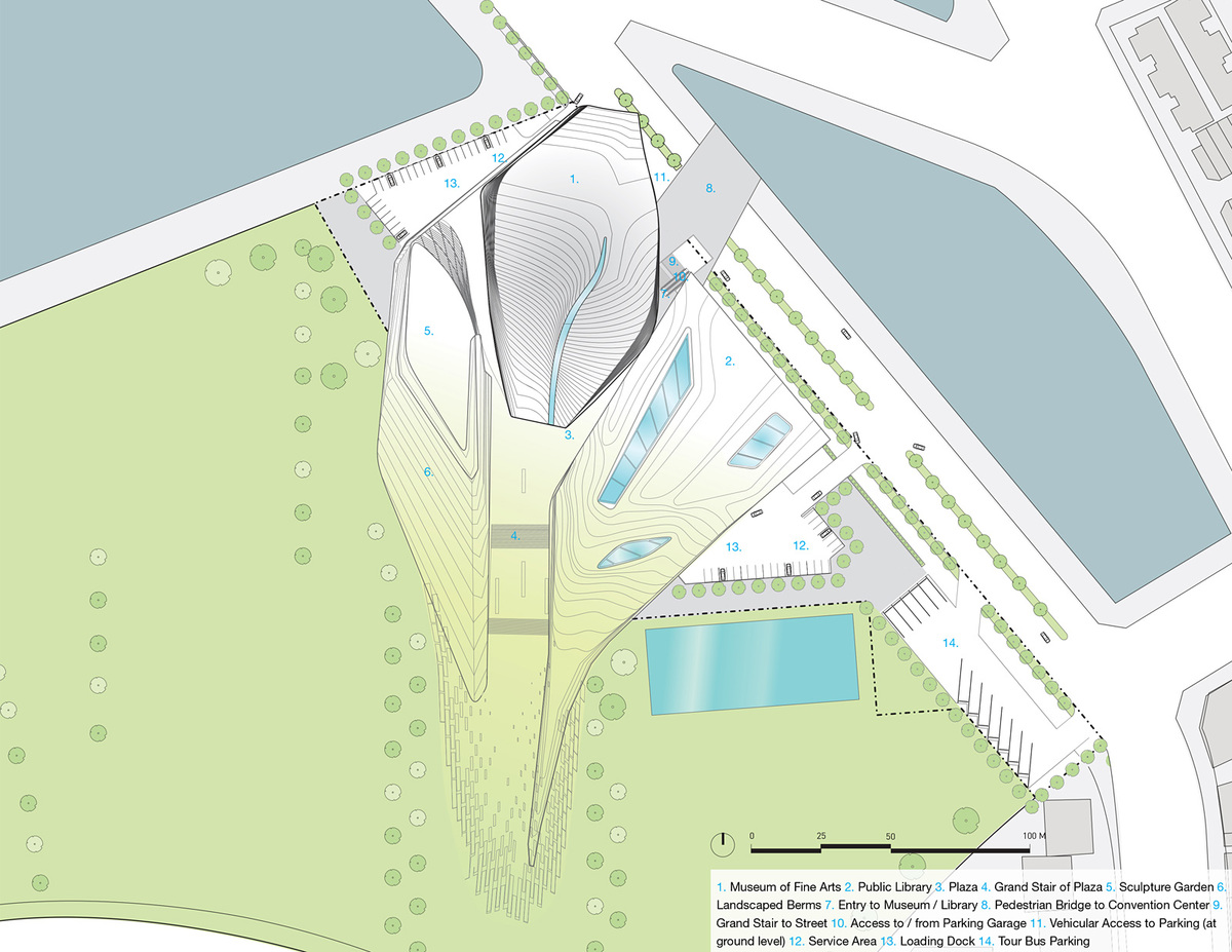 Vicinity site plan 2 (Image: Patrick Tighe Architecture)