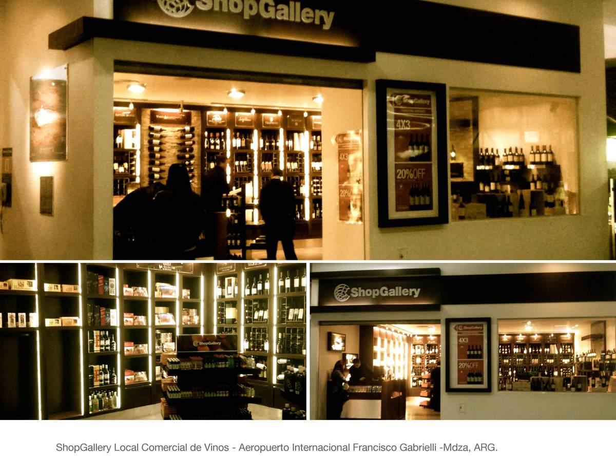 2012 shopgallery wine shop gabriela maria lopez galan for Interior and exterior design schools