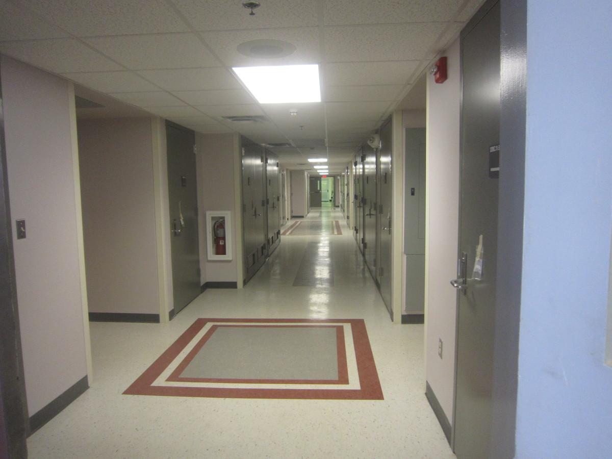 Corridor - Color coded defining floor level