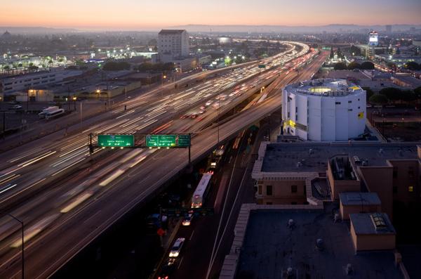 New Carver Apartments, Los Angeles, CA. Photo: Iwan Baan