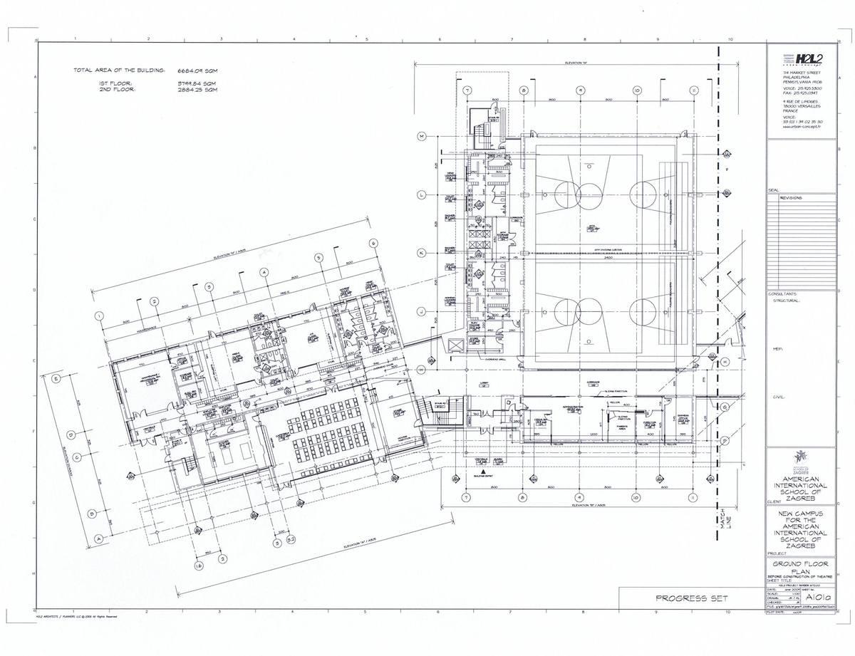 Enlarged First Floor Plan